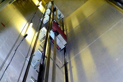 монтаж лифтов отис